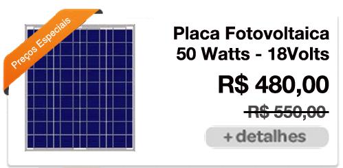 Placa Fotovoltaica residêncial