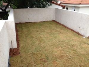 Estrutura do Telhado Verde