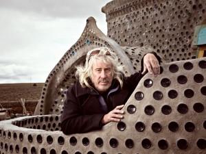 O arquiteto Michael Reynalds.
