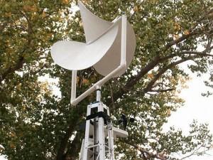 Testes comprovam a eficácio deste formato de turbina eólica na proteção aos pássaros.
