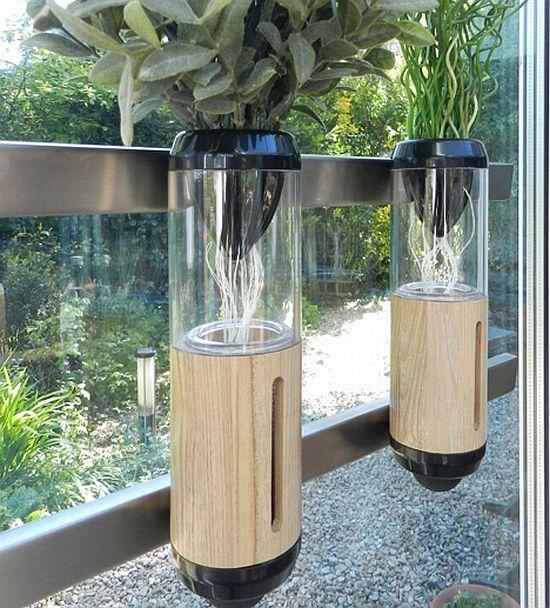 design favorece o uso do sistema hidropnico para fins decorativos
