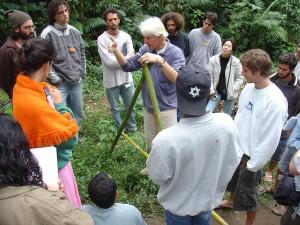 Curso de permacultura no ipema