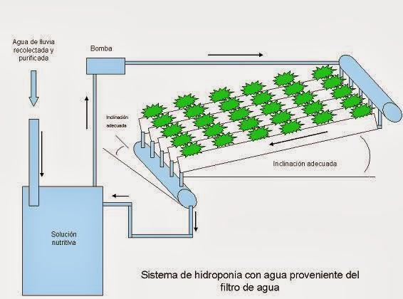 O que hidroponia o sistema hidroponico for Construir mesa de cultivo