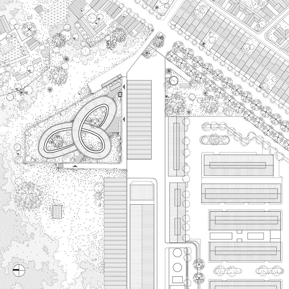 horta e jardim livro:telhado-verde-com-horta-em-jardim-de-infância-no-vietnã-planta