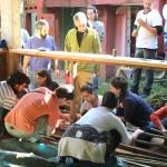 Preparação do Bambu-a-Pique