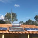 Residência em Caeté RJ - sistema off grid/ foto: Neosolar