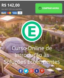 Curso Online de Introdução às Soluções Ecoeficientes