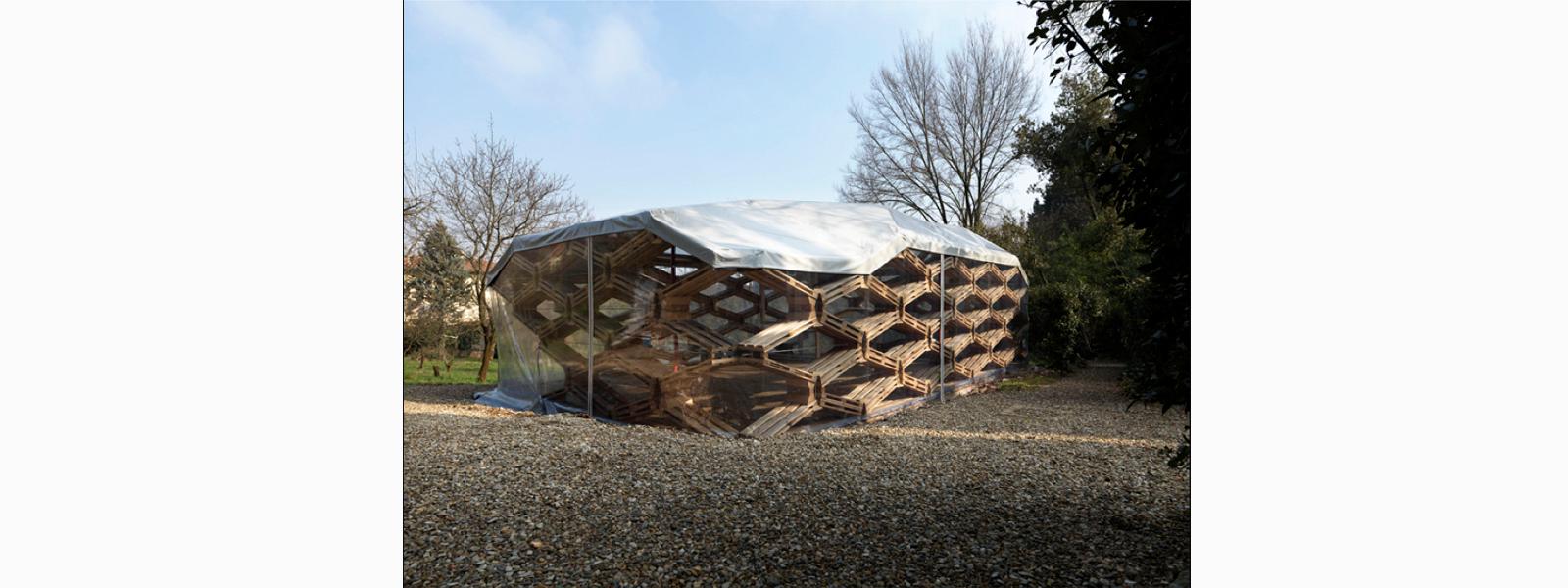<strong>Construção Sustentável</strong> produzida com material reutilizado