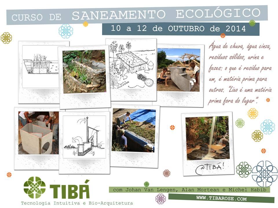 Curso de Saneamento Ecológico e construcao sustentavel