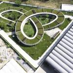 Telhado Verde com Horta em Jardim de infância no Vietnã